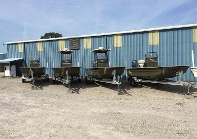 4 law enforcement boats side by side