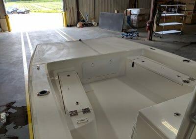interior of a boat